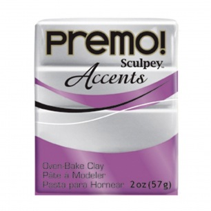 Sculpey Premo Accents Argent