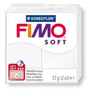 Fimo Soft 57 g blanc