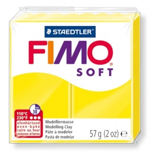 Fimo Soft 57 g citron