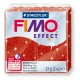 Fimo Effect 56 g glitter rouge