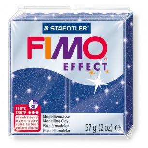 Fimo Effect 56 g glitter bleu