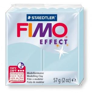 Fimo Effect 56 g bleu quartz nacré