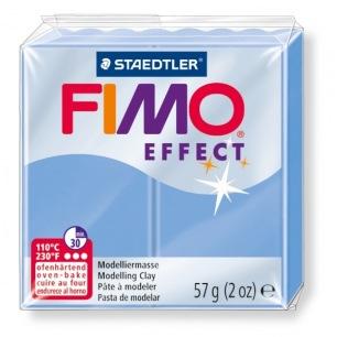 Fimo Effect 56 g bleu agate nacré