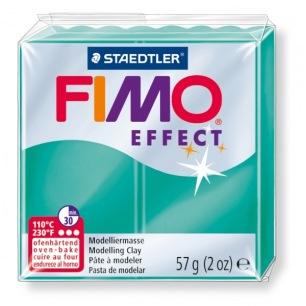 Fimo Effect 56 g transparent vert