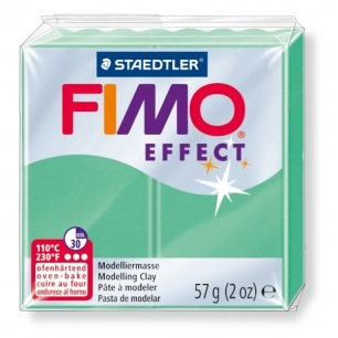 Fimo Effect 56 g vert Jade nacré