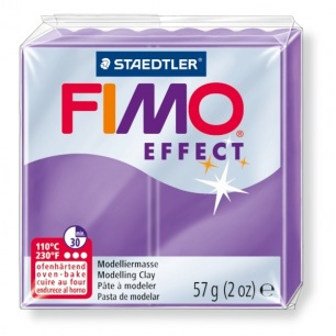 Fimo Effect 56 g transparent lilas