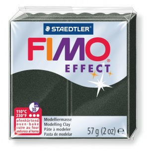 Fimo Effect 56 g perle noire