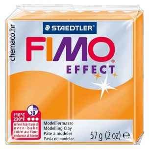 Fimo Effect 56 g transparent orange
