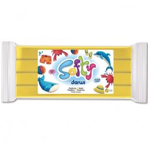 Pâte à modeler Softy 500 g jaune
