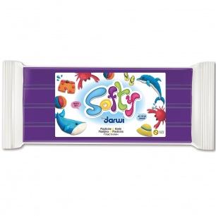 Pâte à modeler Softy 500 g violet