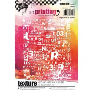 Art Printing - Collages lettres et chiffres