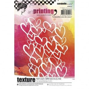 Art Printing - Composition avec des coeurs