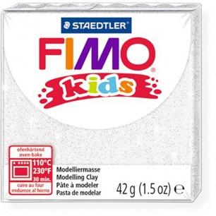 Fimo KIDS Glitter Blanc