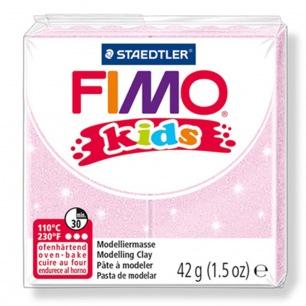 Fimo KIDS Glitter rose pâle