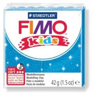 Fimo KIDS Glitter Bleu