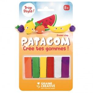 PATAGOM - Crée tes gommes - Graine Créative