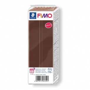Fimo Soft 454 g chocolat