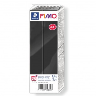 Fimo Soft 454 g noir