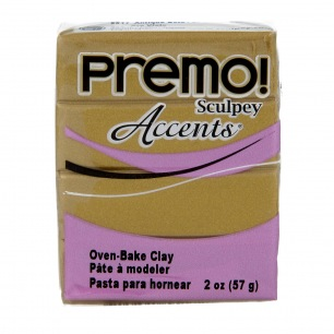 Sculpey Premo Accents Or Antique