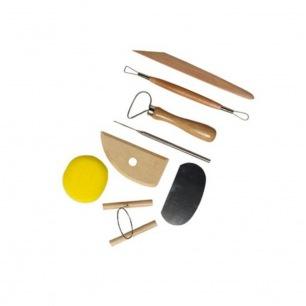Kit d'outils de poterie assortiment