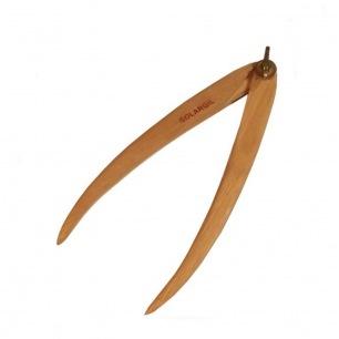 Compas d'épaisseur en bois droit - 30 cm - Solargil