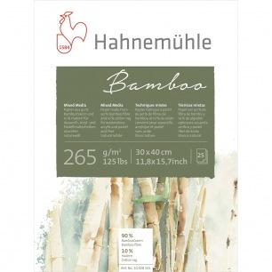 Bloc Hahnemulhe® Bamboo - 265 gr/m² - collés 4 côtés