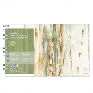 Carnet voyage BAMBOO Hahnemühle® Harmony - 265 gr/m² - spirale