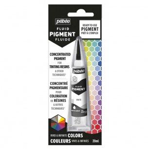 Pébéo Fluid Pigment - 20 ml - Blanc