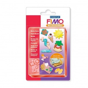 Moule flexible Fimo (Push mould) - Mer