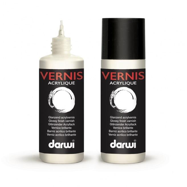 Vernis acrylique brillant Darwi 80ml