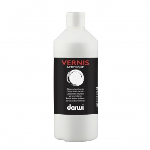 Vernis acrylique brillant Darwi 500ml