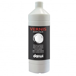 Vernis acrylique brillant Darwi 1000ml