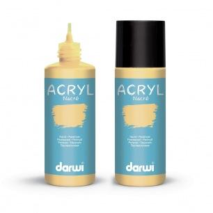 Peintures Acryliques Darwi Acryl - Nacré