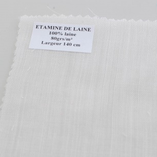 Etamine de laine - Au mètre