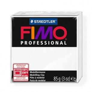 Pâte pour bijoux FIMO Professionnal Blanc