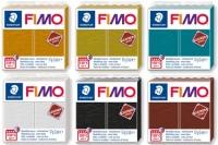 Pâtes à modeler Fimo Leather Effect