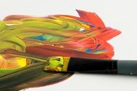 Peinture et marqueur acrylique