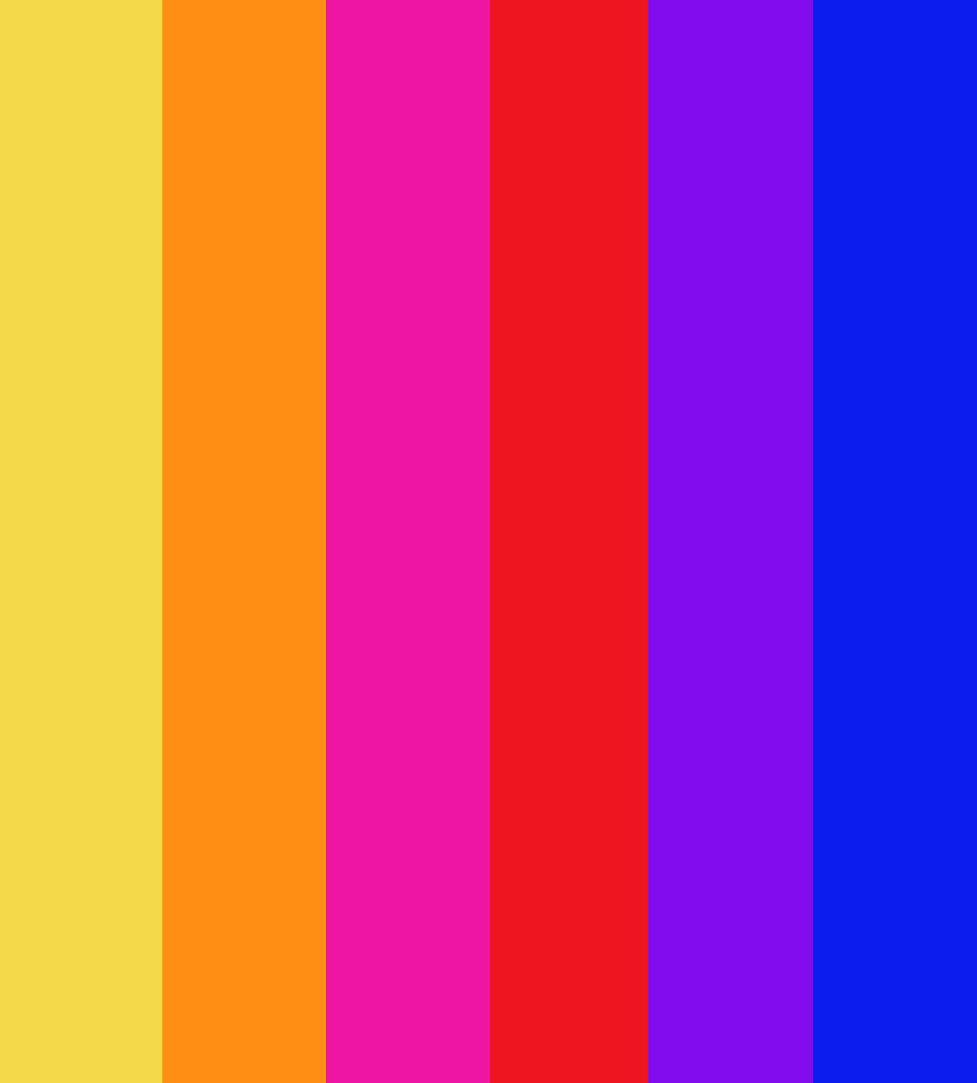 Pack de 12 couleurs